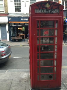 9/12 Piss-stinking telephone box with 41 Dean Street in the background, onetime home (upstairs) to the legendary drinking club the Colony Room