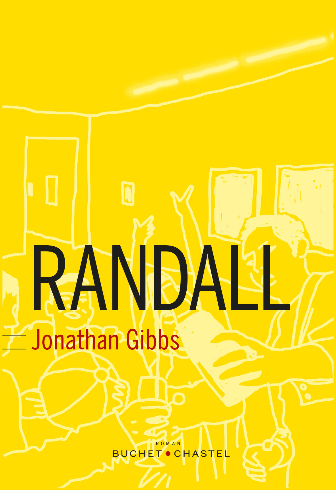 The French cover for 'Randall'